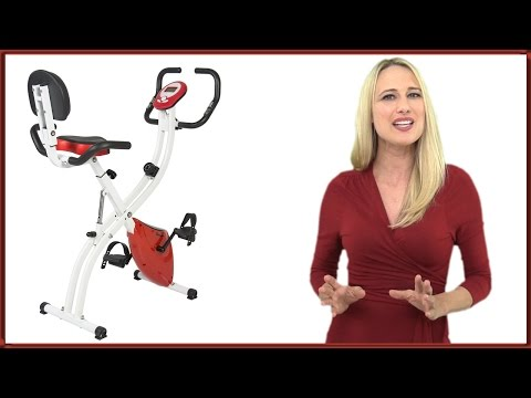 Best Choice Products Folding Adjustable Upright Exercise Bike Review