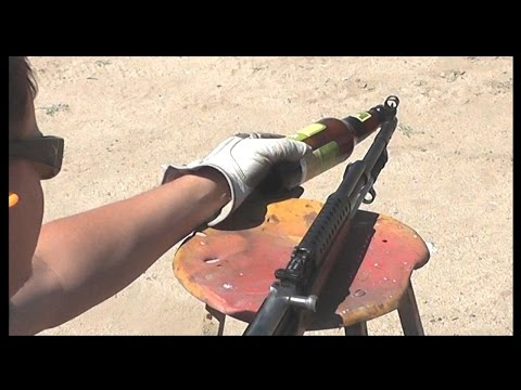 Opening a Beer with a Rifle  (short version)