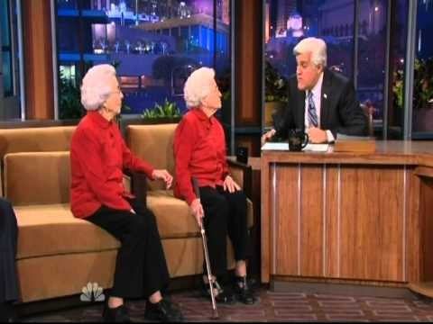100 Year Old Twins On The Tonight Show