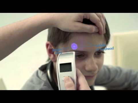Hướng dẫn sử dụng nhiệt kế đo trán Microlife