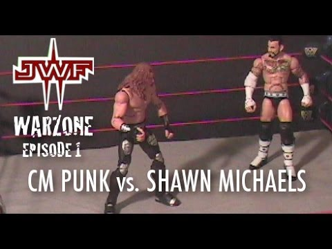 CM - Shawn Michaels defends his Intercontinental Championship against CM Punk on episode 1 of JWF WarZone! Featuring a follow-up on Steve Austin after he was atta...