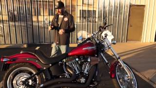 7. 2009 Harley-Davidson Softail Night Train FXSTB