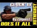 Glock 19 Does it All ?! [FULL REVIEW...Glock 23 too]