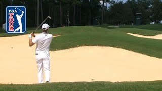 SUBSCRIBE to PGA TOUR now: http://pgat.us/vBxcZSh In the opening round of the 2017 Barbasol Championship, Retief Goosen...