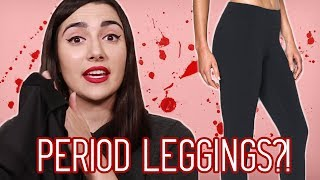 THE PERIOD VIDEOS ARE BACK! I saw these period leggings, so I tried these period leggings. What do you guys think? Would you try these for your period?A big thanks again to the sponsor of this video, the Clue app: https://xq5r.app.link/tmO8uVTeZCDon't forget to click the bell to turn on post notifications!You can get the period leggings, if you want them, here! https://www.pantyprop.com/Safiya's Nextbeat: https://nextbeat.co/u/safiyaIG: https://www.instagram.com/safiyany/Twitter: https://twitter.com/safiyajnFacebook: https://www.facebook.com/safnygaard/MUSICMind The GapFat TonyStrange Goings OnGypsy SailorClose EmbraceGiving It The ShpielBlack Cat In The SunIts On YouOohs And AhhsSFXvia AudioBlocks