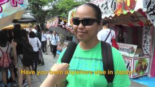 Travelers' Voice of Kyoto:FUSHIMI INARI Area Interview 005