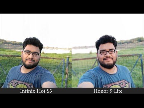 Infinix Hot S3 vs Honor 9 Lite Camera Comparison