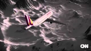 Clip Mô Phỏng Hành Trình Máy Bay Đức Rơi ở Pháp