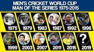 Video Men's Cricket World Cup Man Of The Series List From 1975 to 2015 MP3, 3GP, MP4, WEBM, AVI, FLV Oktober 2018
