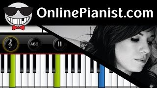 Christina Perri - Human - Piano Tutorial (Easy Version)