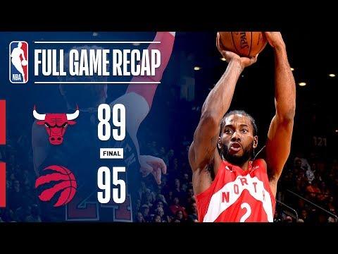 Video: Full Game Recap: Bulls vs Raptors   TOR Takes Down CHI