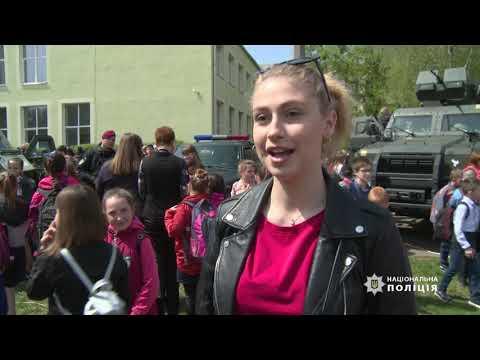 У житомирській школі №6 день цивільного захисту пройшов за участі поліцейських, десантників та рятувальників