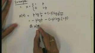Lecture - 8 Information Theory (Part - 1)