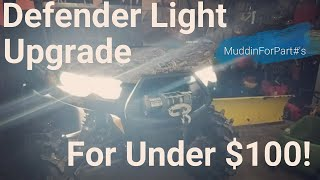 5. 2019 Defender Accessories, Them Lights Are How Bright?!