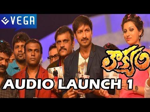 Loukyam Movie Audio Launch - Part 1 - Gopichand, Rakul Preet Singh
