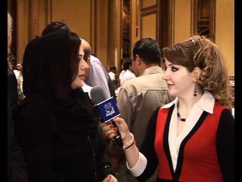 ايناس طالب - الفنانه ايناس طالب مع المتألقه هيفاء الحسيني.