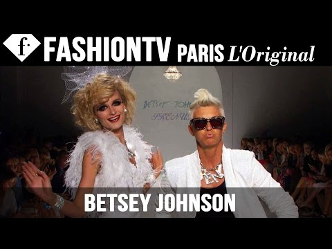 fashiontv - http://www.FashionTV.com/videos NEW YORK CITY - See Betsey Johnson's new collection for Spring/Summer 2015 on the runway at Mercedes-Benz New York Fashion Week. For franchising opportunities...