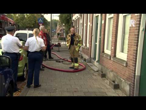 Vrouw overleden na woningbrand Rotterdam