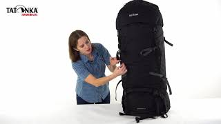 Классический туристический рюкзак большого объема Tatonka Jagos 100+15