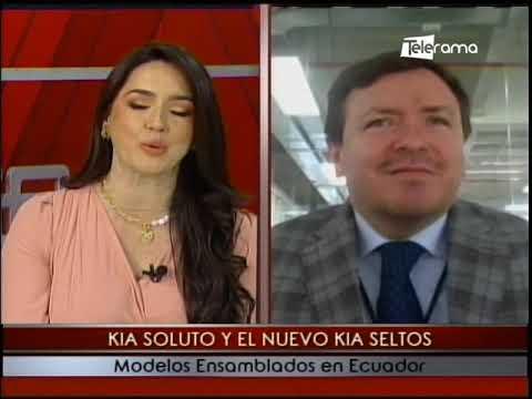 Kia Soluto y el nuevo Kia Seltos modelos ensamblados en Ecuador