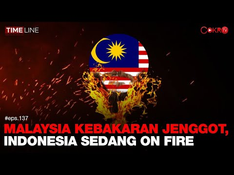 Denny Siregar: MALAYSIA KEBAKARAN JENGGOT, INDONESIA SEDANG ON FIRE