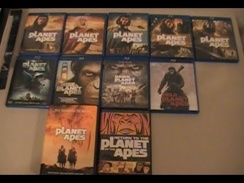 My Planet Of The Apes Collection