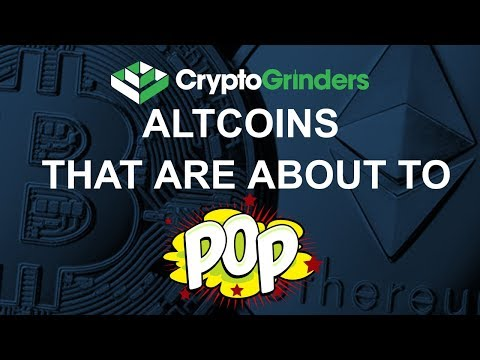 ALTCOINS THAT ARE ABOUT TO POP!!! video