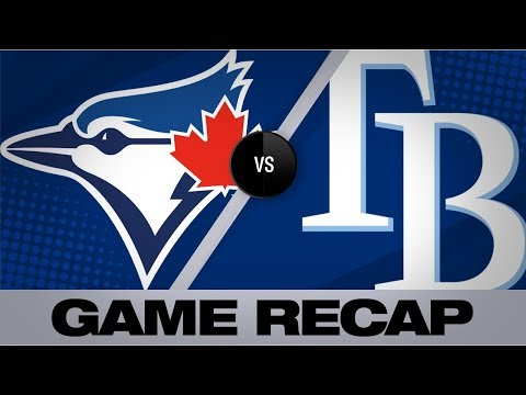 Video: d'Arnaud's sac fly lifts Rays in 5-3 win | Blue Jays-Rays Game Highlights 9/7/19