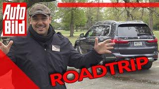 BMW X7 Roadtrip Teil 1 (2019): SUV- Reise mit Dean by Auto Bild