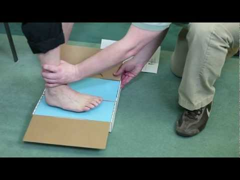 How To Properly Take A Foot Impression For Custom Made Orthotics.mp4