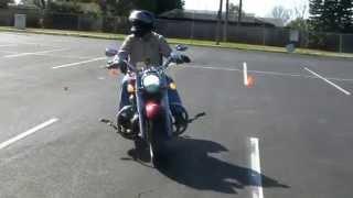9. Yamaha 1900 Roadliner Intersection Exercise