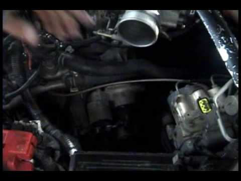 1995-2001 Nissan Maxima: Starter replacement