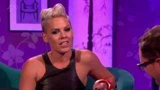 P!nk on Chatty Man 09/14/2012