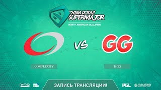compLexity vs isGG, China Super Major NA Qual, game 1 [Autodestruction]