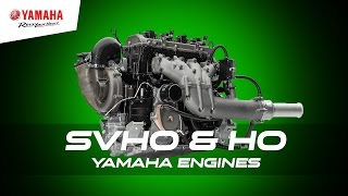 4. 1.8 litre SVHO & HO Yamaha WaveRunner Engines