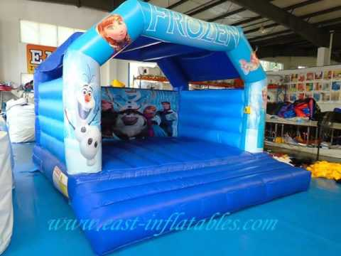 E1-134  Frozen Jumping Castle