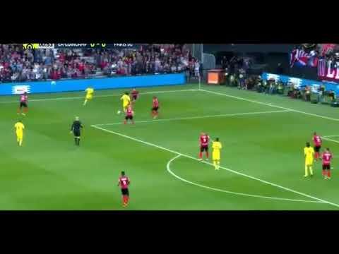 Neymar vs guingamp (debut) all goals and highlights 13/8/2017