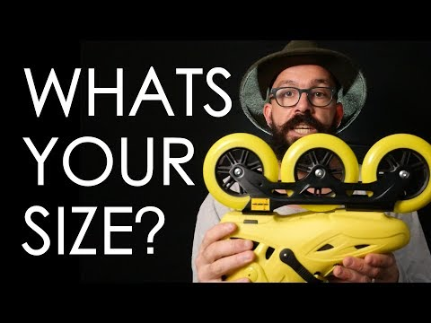 HOW TO CHOOSE THE RIGHT SIZE INLINE OR ROLLER SKATES ? // VLOG 115