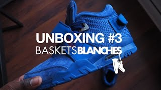 "Video Unboxing #3 by Baskets Blanches - Nike Air Trainer Cruz ""Rush Blue"" MP3, 3GP, MP4, WEBM, AVI, FLV Juni 2017"