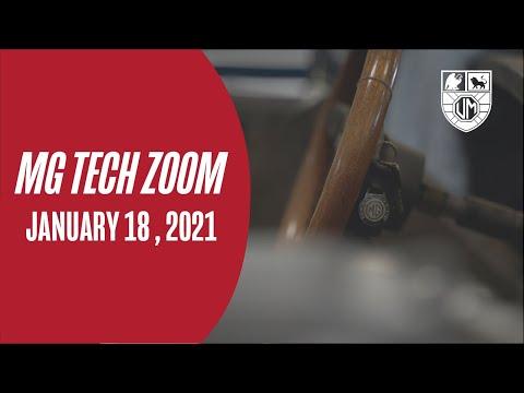 MG Tech Zoom 18 Jan 2021