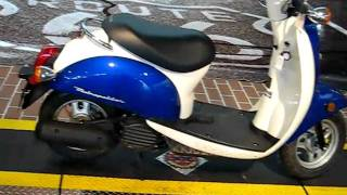 10. 2007 Sapphire & White Honda Metropolitan CHF50 Scooter