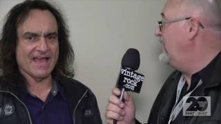http://www.vintagerock.com - Vintage Rock's Shawn Perry talks with  drummer Vinny Appice, on Wednesday, January 18 at the 2017 Hall of Heavy Metal History Induction ceremony in Anaheim, CA. Captured and edited by Mike Thoman.