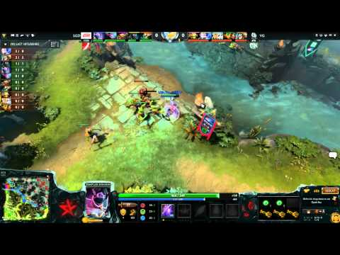 LGD Gaming vs Vici Gaming , WCA LB Round 2 , Game 2