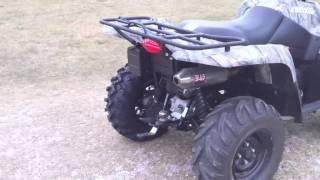 10. Suzuki King Quad 500 with GBC Grim Reapers tires and Douglas Nitro Wheels