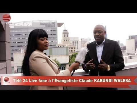 TÉLÉ 24 LIVE: Évangéliste Kabundi Walesa a telemeli ba tuerie ya ville ya Beni, na ba pasteur pornographe