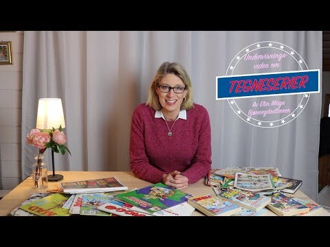 En undervisningsvideo om tegneserier