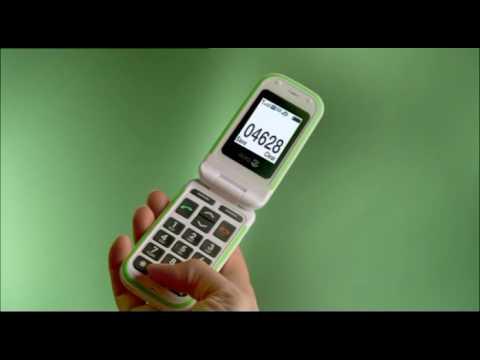 Doro PhoneEasy 410 - Teléfono Móvil Teclas Grandes y Tapa