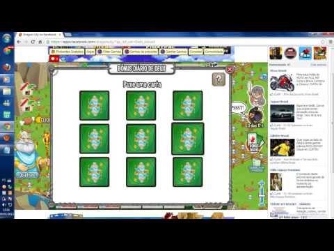 Dragon City:Truque de como ganhar o que você quiser no Bônus Diário