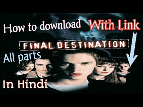 how to download Final destination all parts in hindi dubbed HD