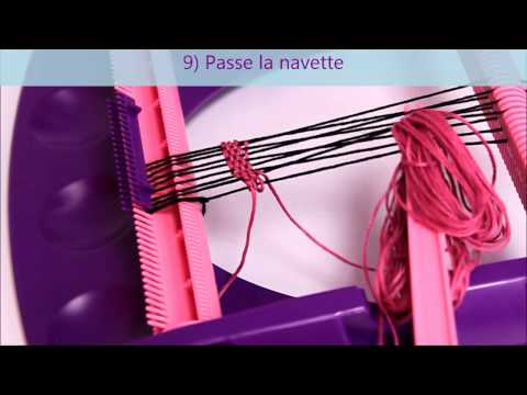 gratis download video - Technique-du-TISSAGE-de-fils-de-coton